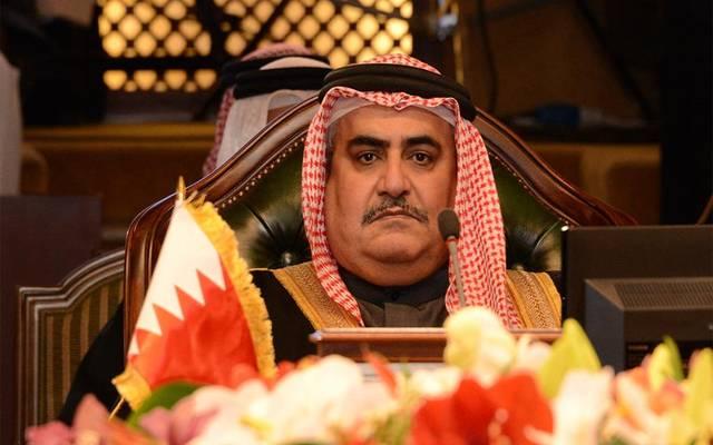 وزير الخارجية البحريني الشيخ خالد بن أحمد بن محمد آل خليفة