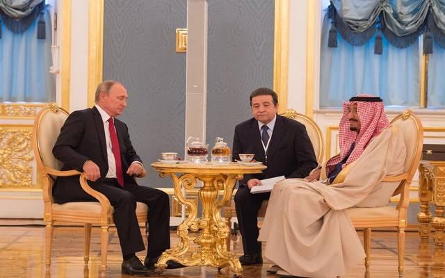 الكرملين: العاهل السعودي والرئيس الروسي مستعدان لمواصلة التعاون بالطاقة