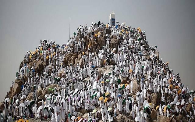 وقوف الحجيج بجبل عرفات، أرشفية