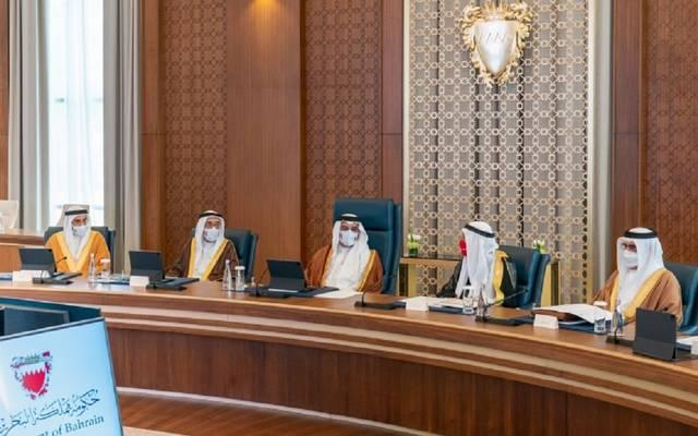 ولي العهد البحريني أثناء اجتماع مجلس الوزراء - أرشيفية