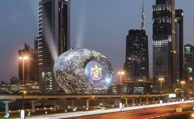 أحد المعالم السياحية في إمارة دبي