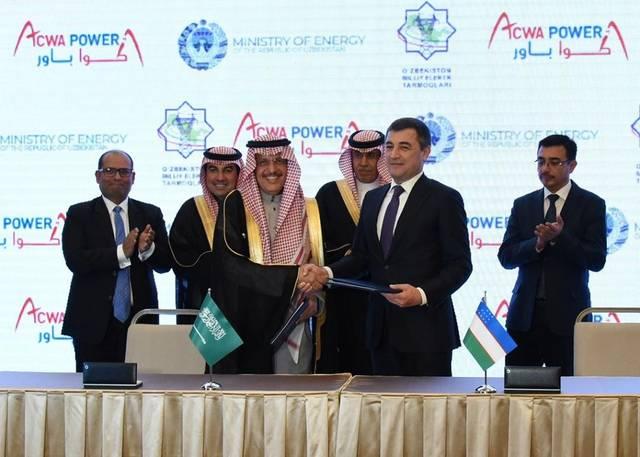 ACWA Power has inked three deals with Uzbekistan