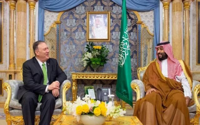 الأمير محمد بن سلمان ووزير الخارجية الأمريكي ـ أرشيفية