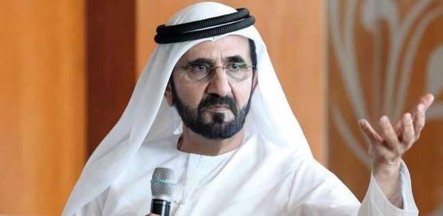 نائب رئيس الدولة رئيس مجلس الوزراء حاكم دبي - الشيخ محمد بن راشد آل مكتوم