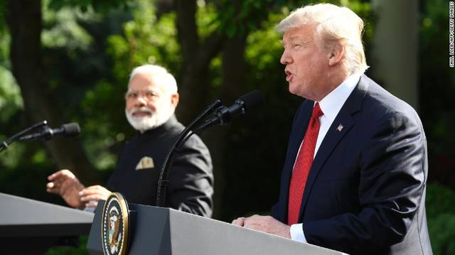 India weighs in trade conflict; imposes tariffs on US goods