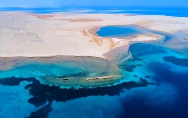 موقع مشروع البحر الأحمر السياحي بالسعودية