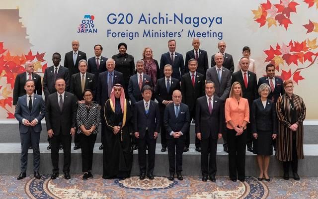 """وزراء خارجية مجموعة العشرين يتفقون على إصلاحات """"ملحة"""" بـ""""التجارة العالمية"""""""