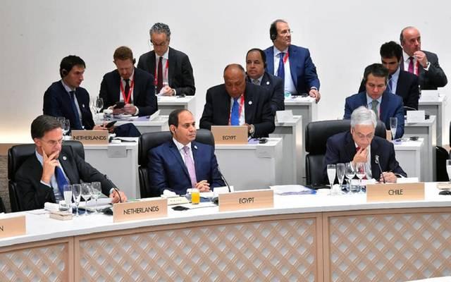 10 صور ترصد مشاركة الرئيس السيسي في قمة مجموعة العشرين