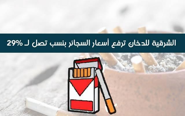 إنفوجراف.. الشرقية للدخان ترفع أسعار السجائر بنسب تصل لـ29%