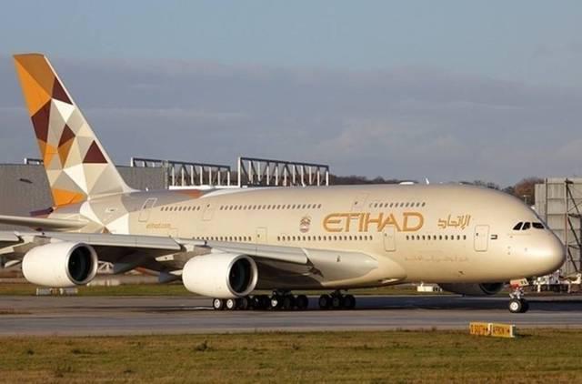 إحدى طائرات شركة الاتحاد للطيران