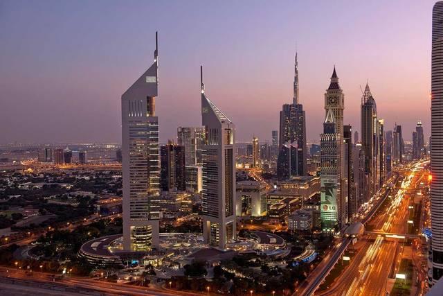 ناطحات السحاب بإمارة دبي، الصورة أرشيفية
