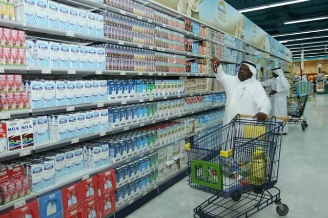 احد محلات بيع السلع في الإمارات