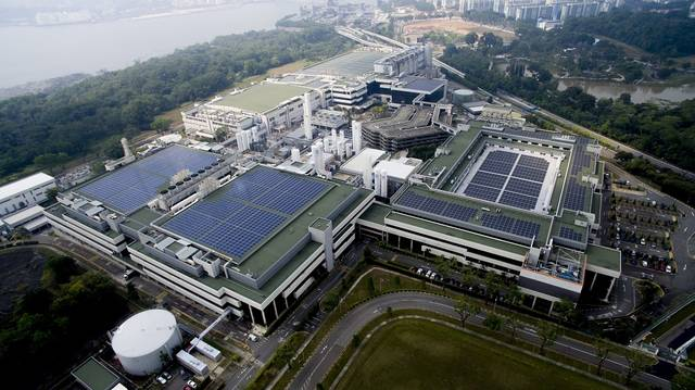 The plant will be built in partnership with the Singapore Economic Development Board