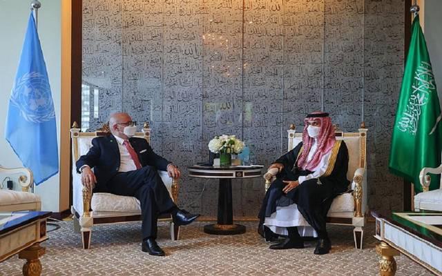 الأمير فيصل بن فرحان بن عبدالله وزير الخارجية والأديان في جمهورية كوستاريكا