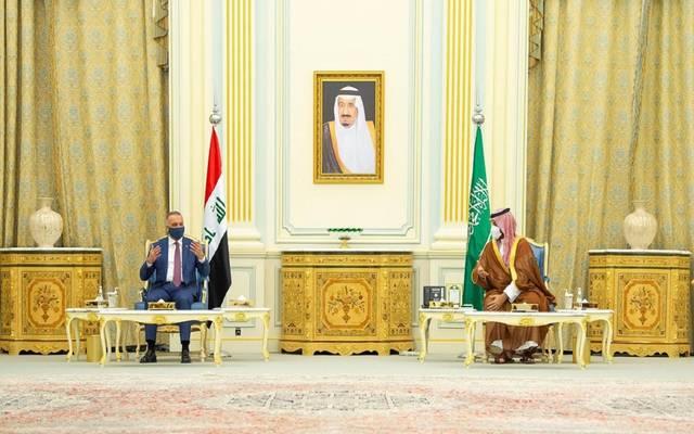 """تأسيس صندوق """"سعودي – عراقي"""" بـ3 مليارات دولار يتصدر مباحثات ولي العهد و""""الكاظمي"""""""