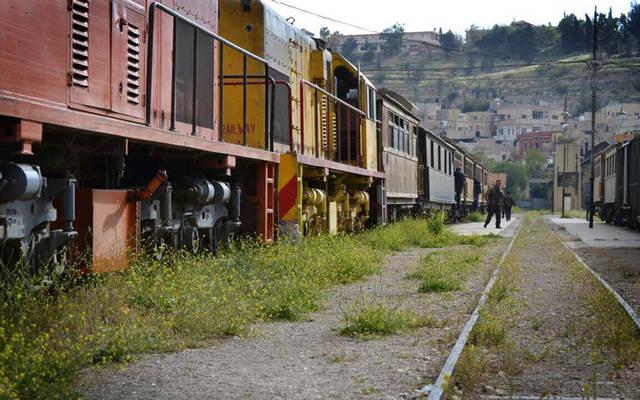 قطار بالخط الحديدي الحجازي الأردني
