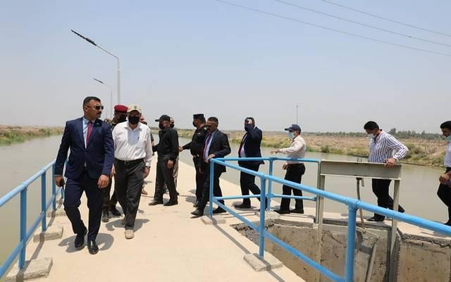 وزير الموارد المائية يصل محافظة ميسان لمتابعة الإطلاقات المائية
