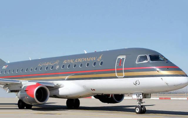 طائرة في أسطول الملكية الأردنية