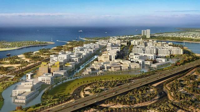 Maryam Island spans across 460,000 sqm