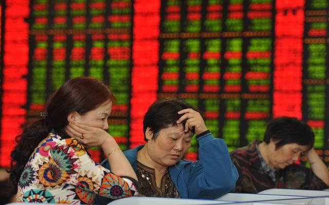 """هبوط الأسهم الصينية 1.5% مع مخاوف انتشار فيروس """"كورونا"""""""