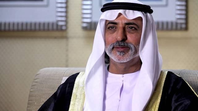 The UAE's  Minister of Tolerance Nahayan bin Mabarak Al Nahayan