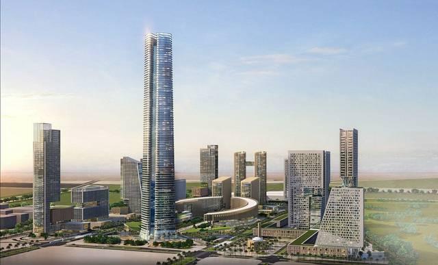 أبراج العاصمة الإدارية