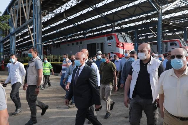 كامل الوزير يوجه بعدم خروج أي قطار إلا بعد التأكد التام من الحالة الفنية له