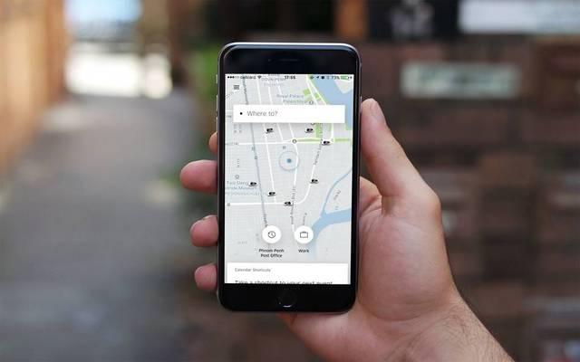 استخدام تطبيقات النقل الذكي عبر الهاتف المحمول
