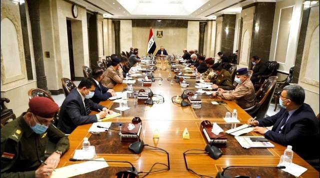 جانب من اجتماع المجلس الوزاري للأمن الوطني في العراق