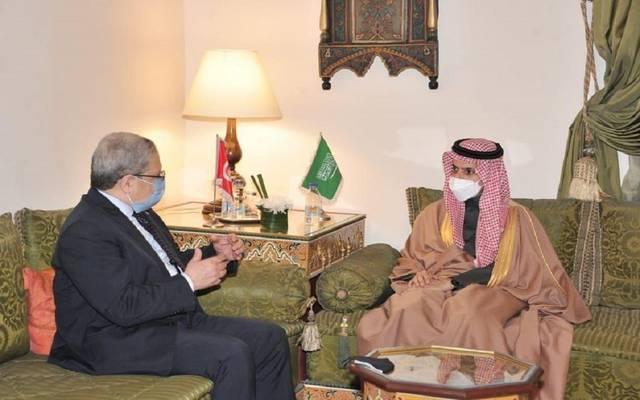 لقاء وزيري خارجية السعودية وتونس