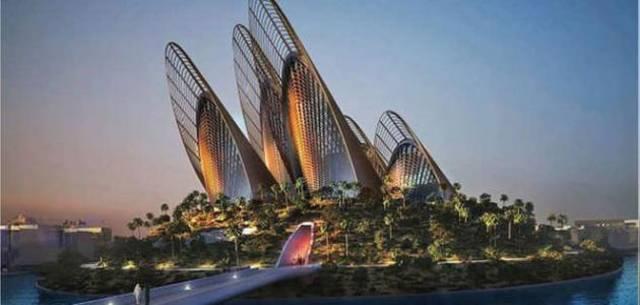 أحد المعالم السياحية في أبوظبي