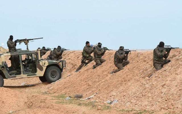قوات مسلحة تونسية على الحدود - أرشيفية