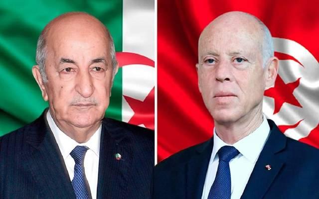 رئيسا تونس والجزائر