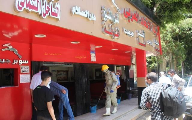 مكتب لحجز تذاكر أتوبيسات السوبر جيت في محافظة الجيزة