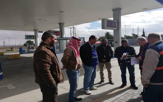 جولة الهيئة التفتيشية لمحطات الوقود
