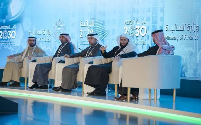 وزير العدل السعودي وليد الصمعاني خلال مشاركته في ملتقى ميزانية 2020 الذي نظمته وزارة المالية اليوم الثلاثاء