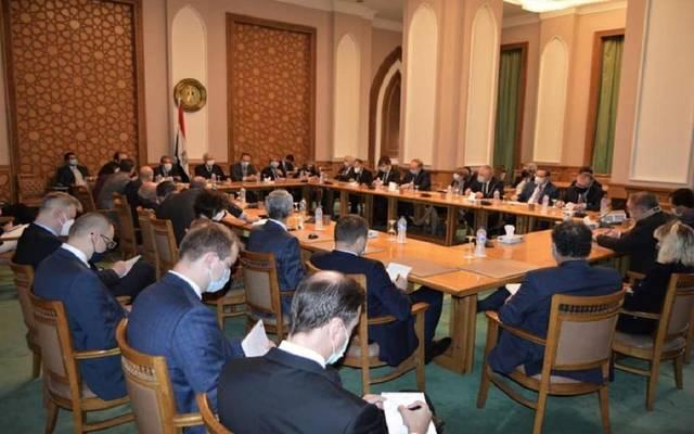 اجتماع الخارجية مع  سفراء الدول العربية والأوروبية في القاهرة
