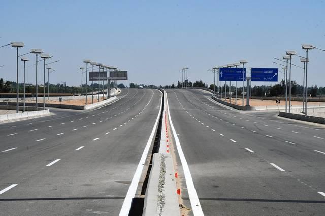 """محور 30 يونيو """"الطريق التبادلي للطريق الموازي لقناة السويس"""""""