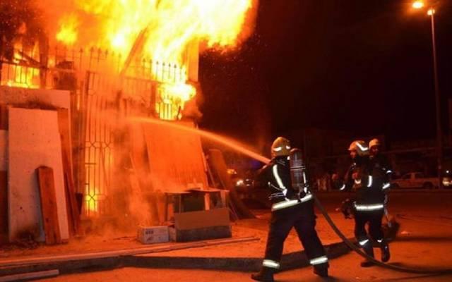 الحريق أدى وفاة أحد العاملين وخروج الوحدة الثانية بمحطة توليد الكهرباء من الخدمة