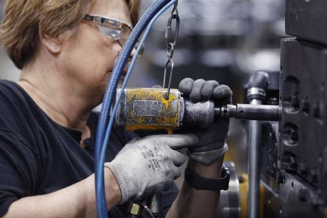NY manufacturing business gauge hits 6M peak in May