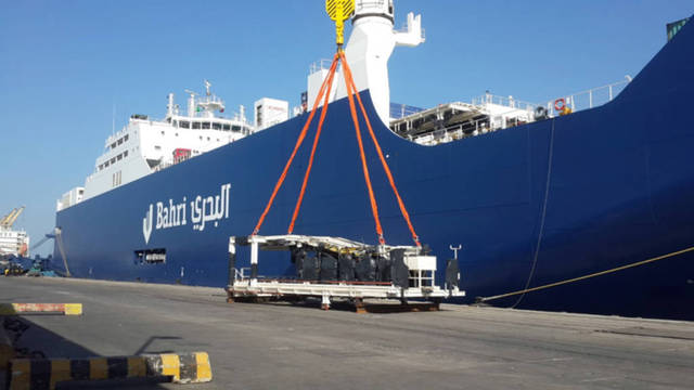 Bahri's unit will use the loan in covering 80% of the cost of building 10 chemical tankers.