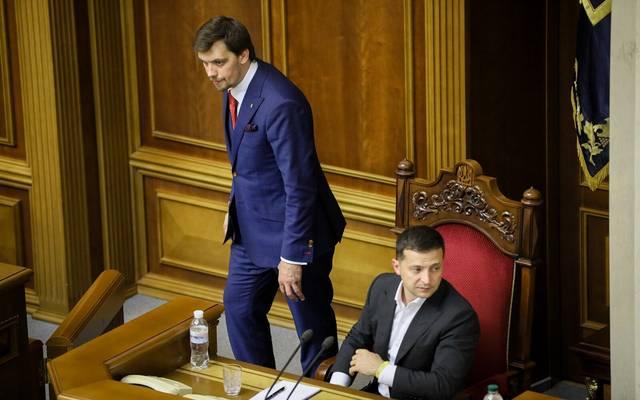 رئيس وزراء أوكرانيا يتقدم باستقالته بعد 6 أشهر في المنصب