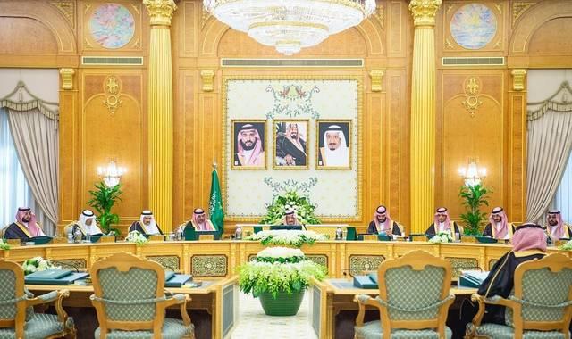جانب من اجتماع مجلس الوزراء السعودي اليوم الثلاثاء