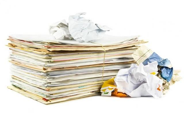 إعادة تدوير الورق - صورة أرشيفية