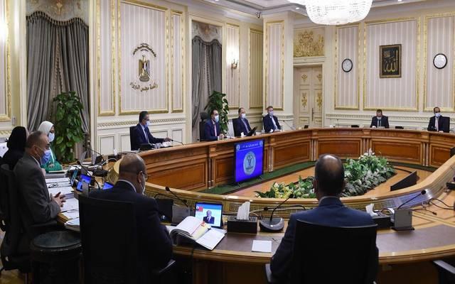 خلال اجتماع مجلس الوزراء اليوم الأربعاء