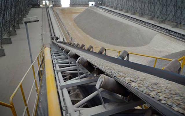 خطوط نقل الكلنكر بالشركة