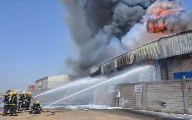 محافظة جدة الأمير مشعل يوجه باتخاذ التدابير لإخماد حريق قطار