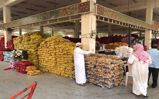 أسواق خضار وفاكهة بالمملكة العربية السعودية