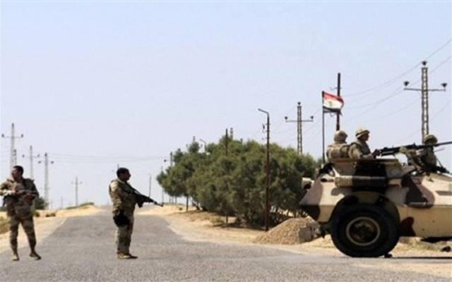 كمين أمني ــ الجيش المصري