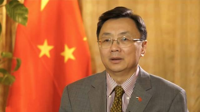 The Chinese Ambassador to the UAE, Ni Jian